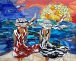 Vrouwen aan zee